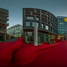 Roter Platz by Pipilotti Rist